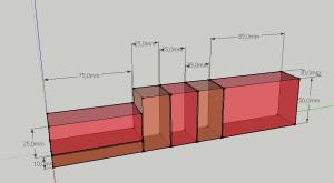 3D Schnittplan Visualiserung