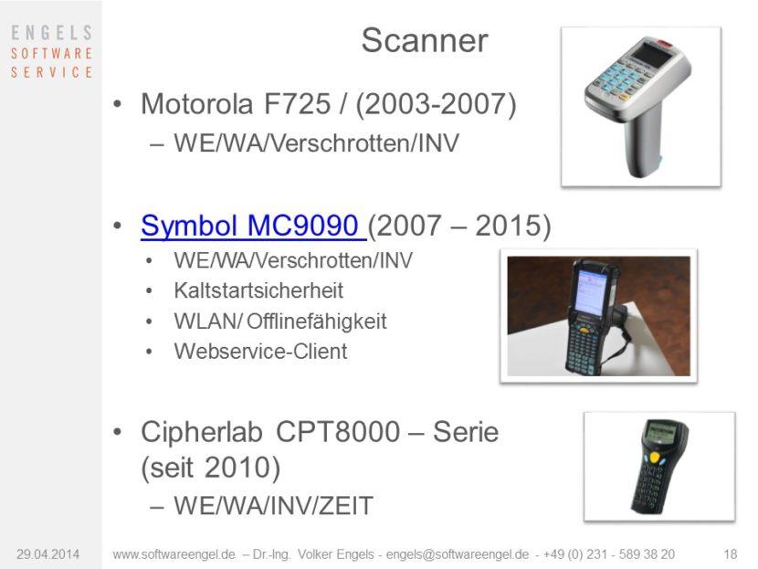 mobile Barcodescanner
