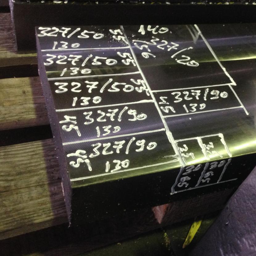 3D Block mit manueller beschriftung